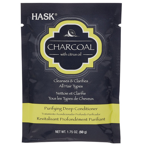 Hask Charcoal with Citrus Oil Purifying Deep Conditioner 1.75 oz