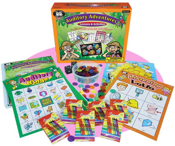 Auditory Adventures Activities Pack