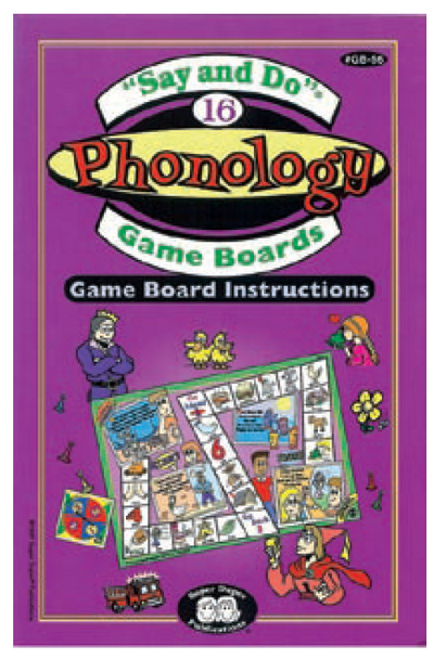 Say and Do Phonology Games