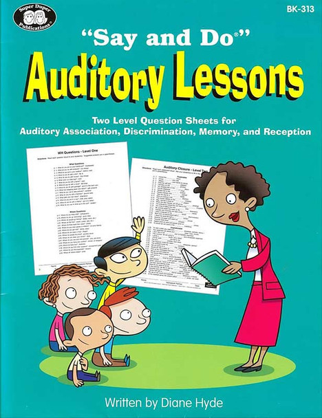 Say & Do Auditory Lessons