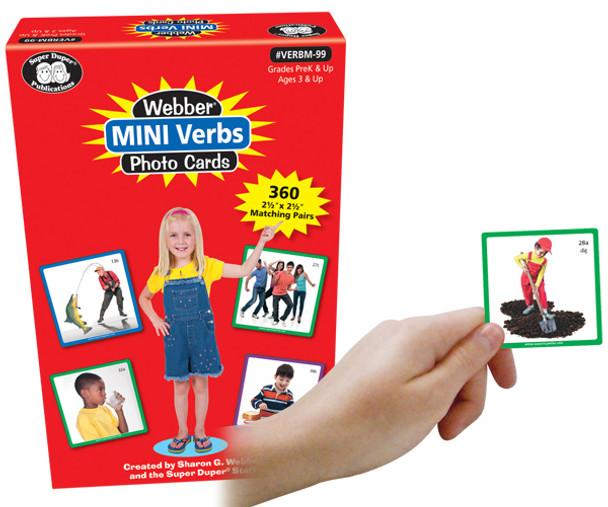 Webber Mini Verbs Photo Cards