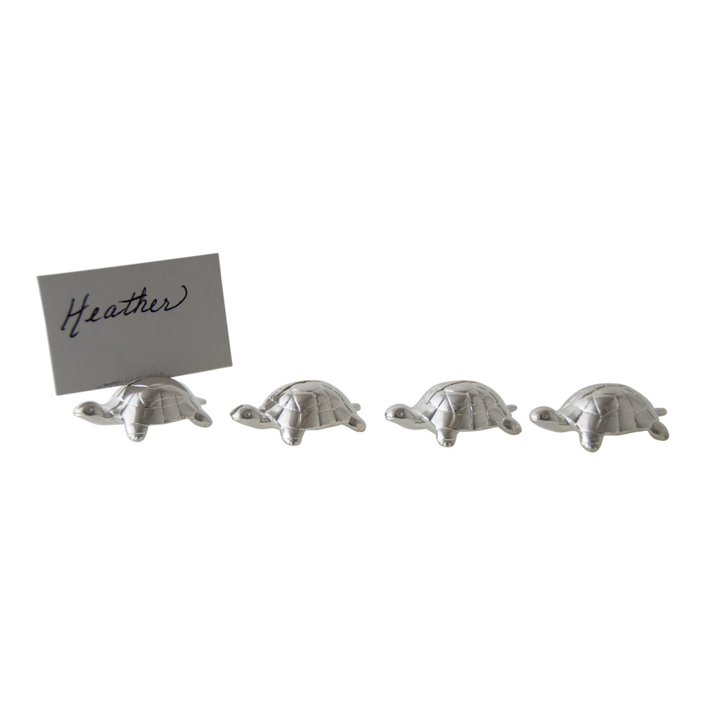 Turtle Place Card Holders  Set/4