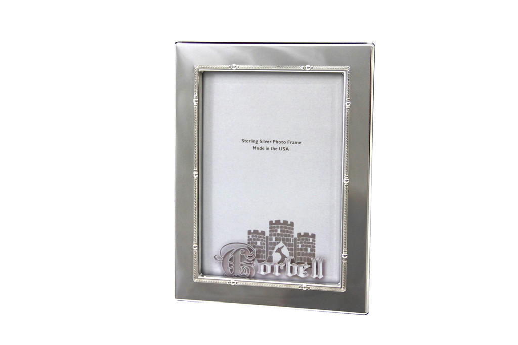 "Finest Quality Sterling /Wood Frame  5"" x 7"" Photo Size"