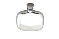Art Nouveau English Pewter Flask