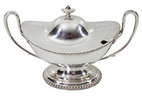 Boat-Shaped Soup Tureen, C. 1860