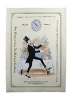"Tea Towel (Polishing Mr Town Talk Image) 19 3/4"" x 27 1/2"""