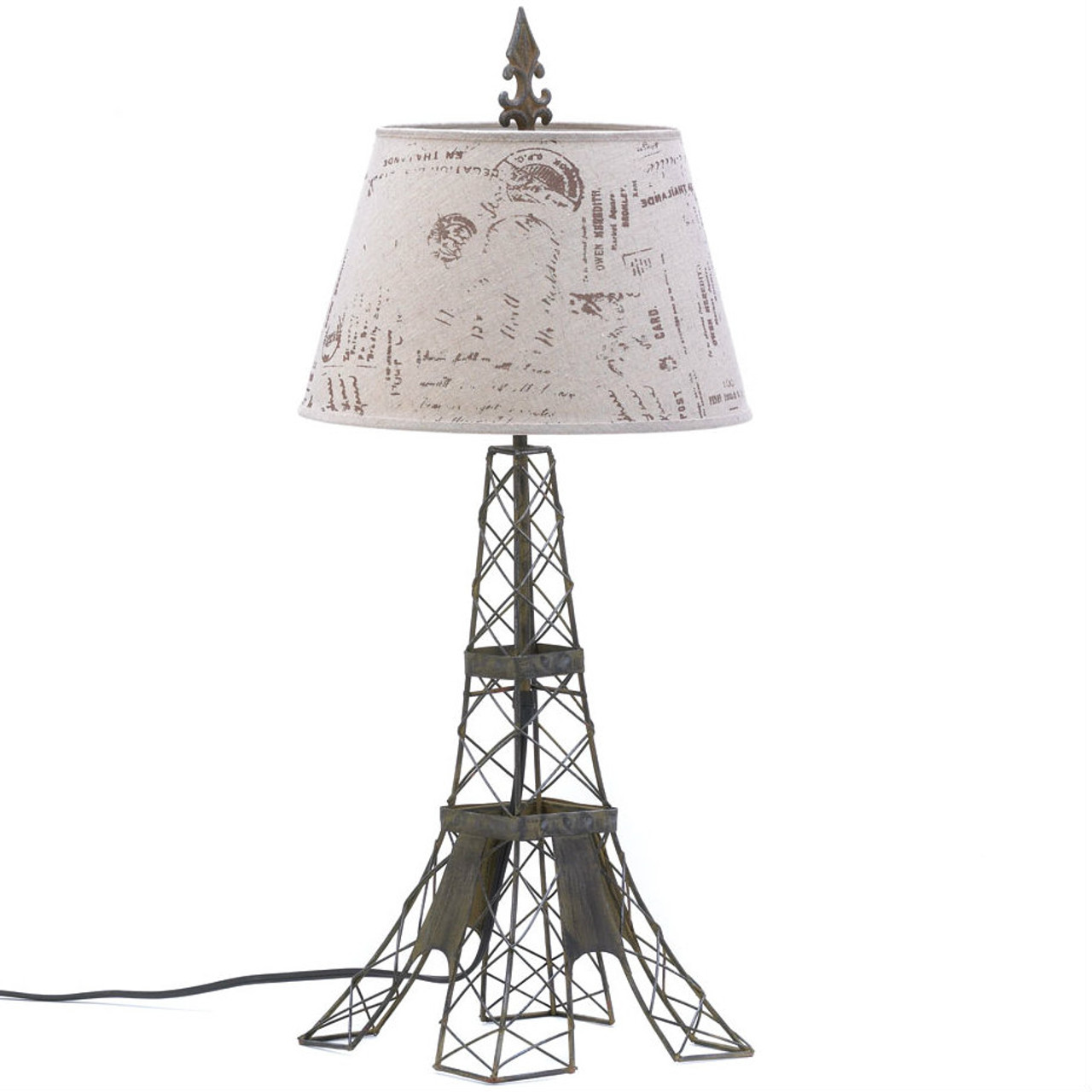 Eiffel tower wire frame table lamp aewholesale eiffel tower wire frame table lamp keyboard keysfo Image collections