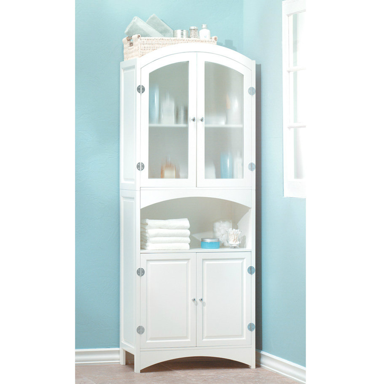 storage for corner bathroom tall linen cabinets white cabinet espresso