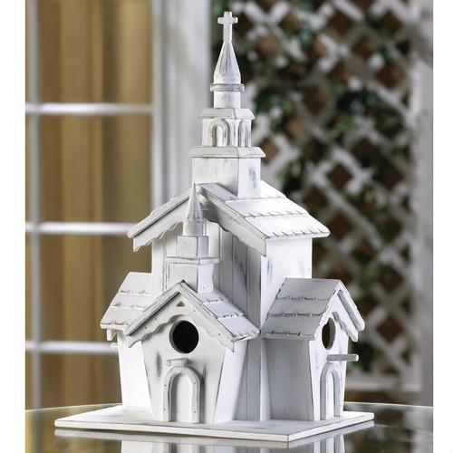 Country Chapel Bird House
