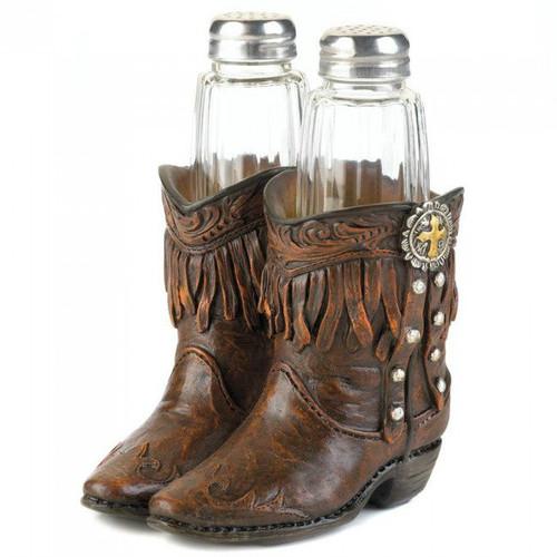 Cowboy Boots Salt & Pepper Set