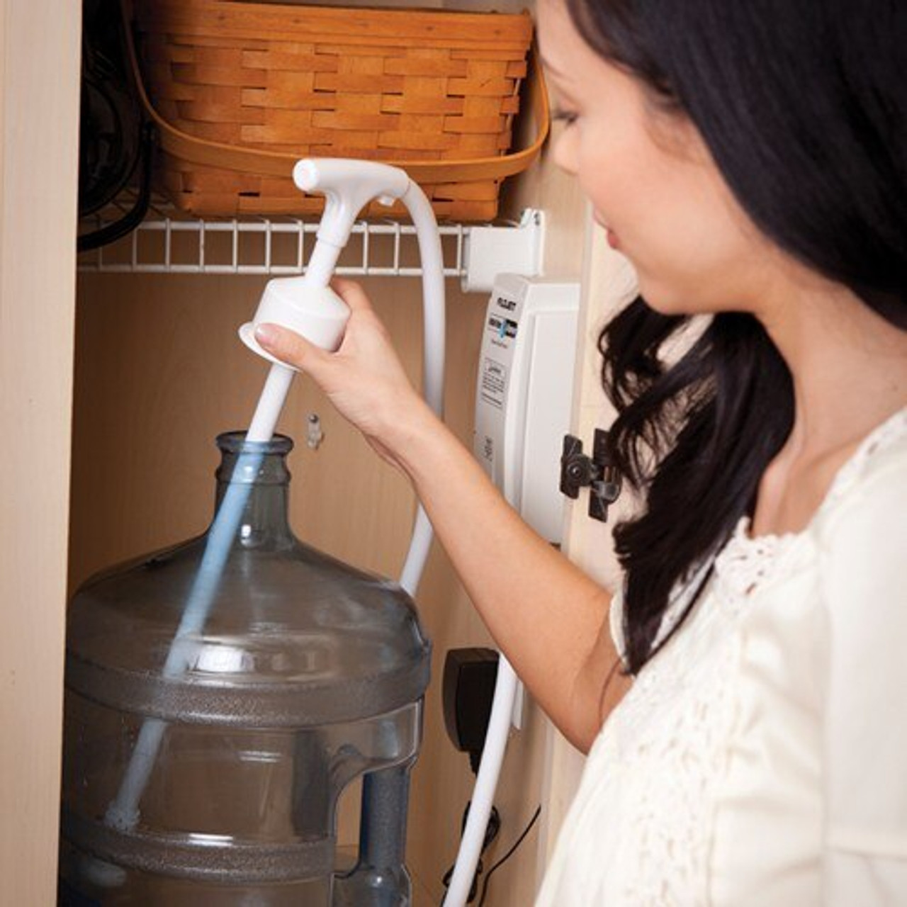 "Useful Home Articles Drinking Water Hand Pump For Bottled: FloJet BW5000 Bottled Water Pump System: 1/4"" System"
