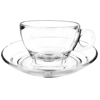 Ocean Professional Clear Glass Caffe Latte Cup 8.0 oz