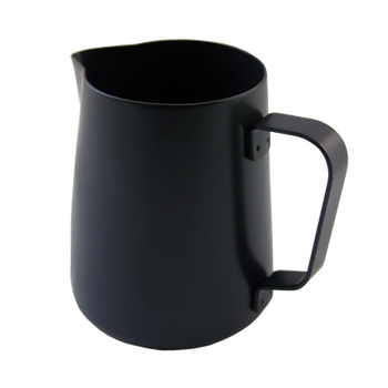 Rhinowares Barista Frothing Pitcher Black (12 oz)