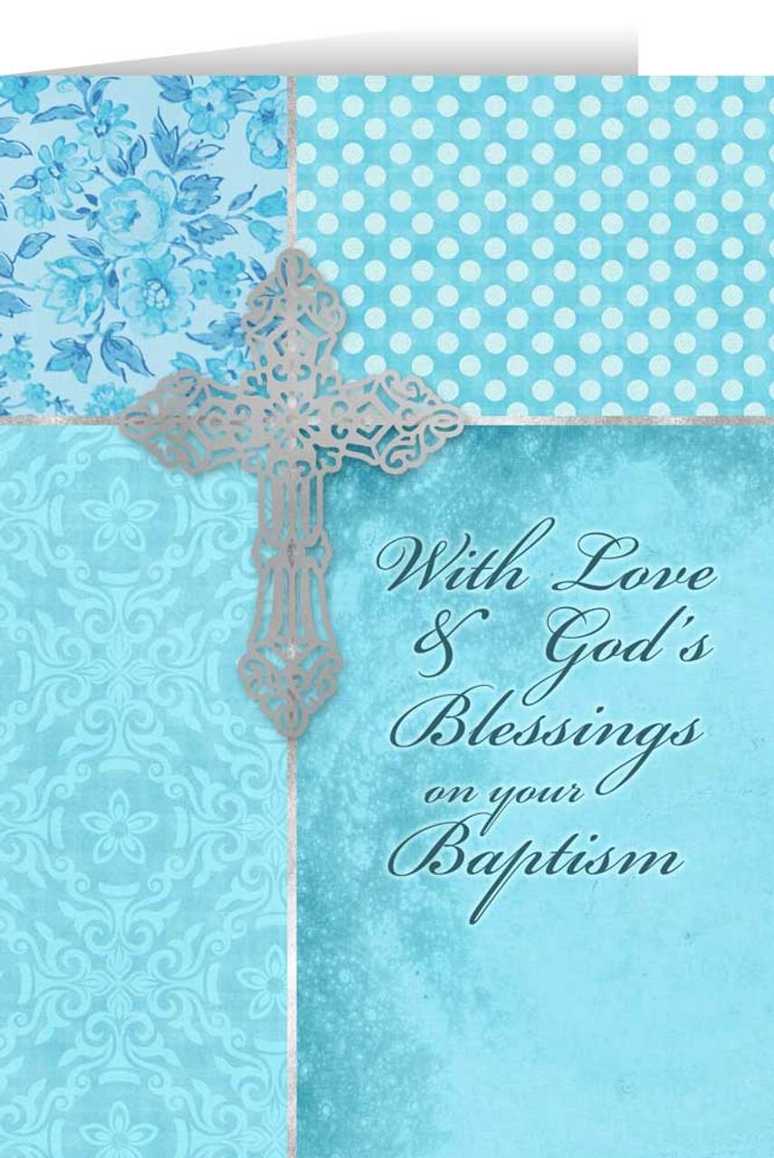 On your baptism aqua greeting card catholic to the max online on your baptism aqua greeting card m4hsunfo