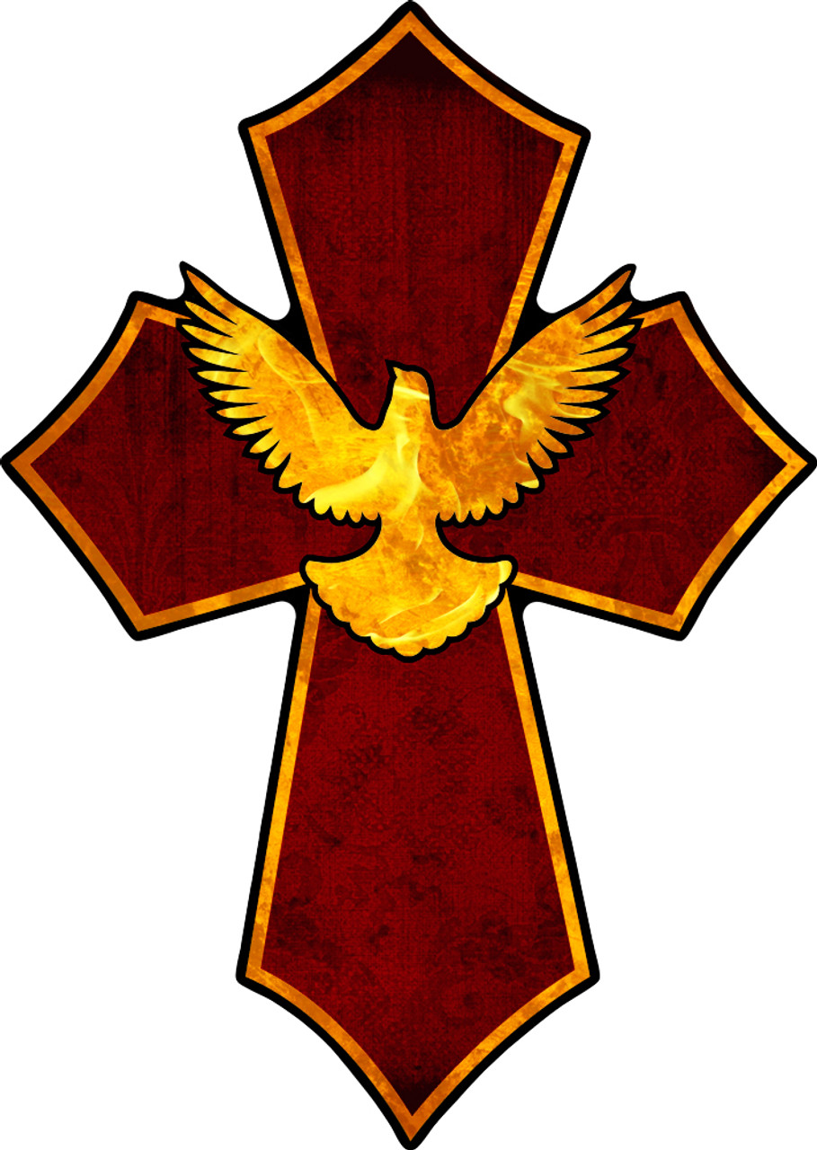 holy spirit confirmation cross catholic to the max