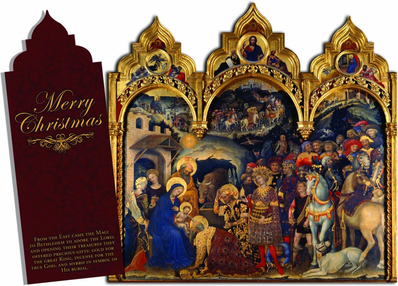 Merry Christmas Tri Fold Christmas Cards Catholic To The Max