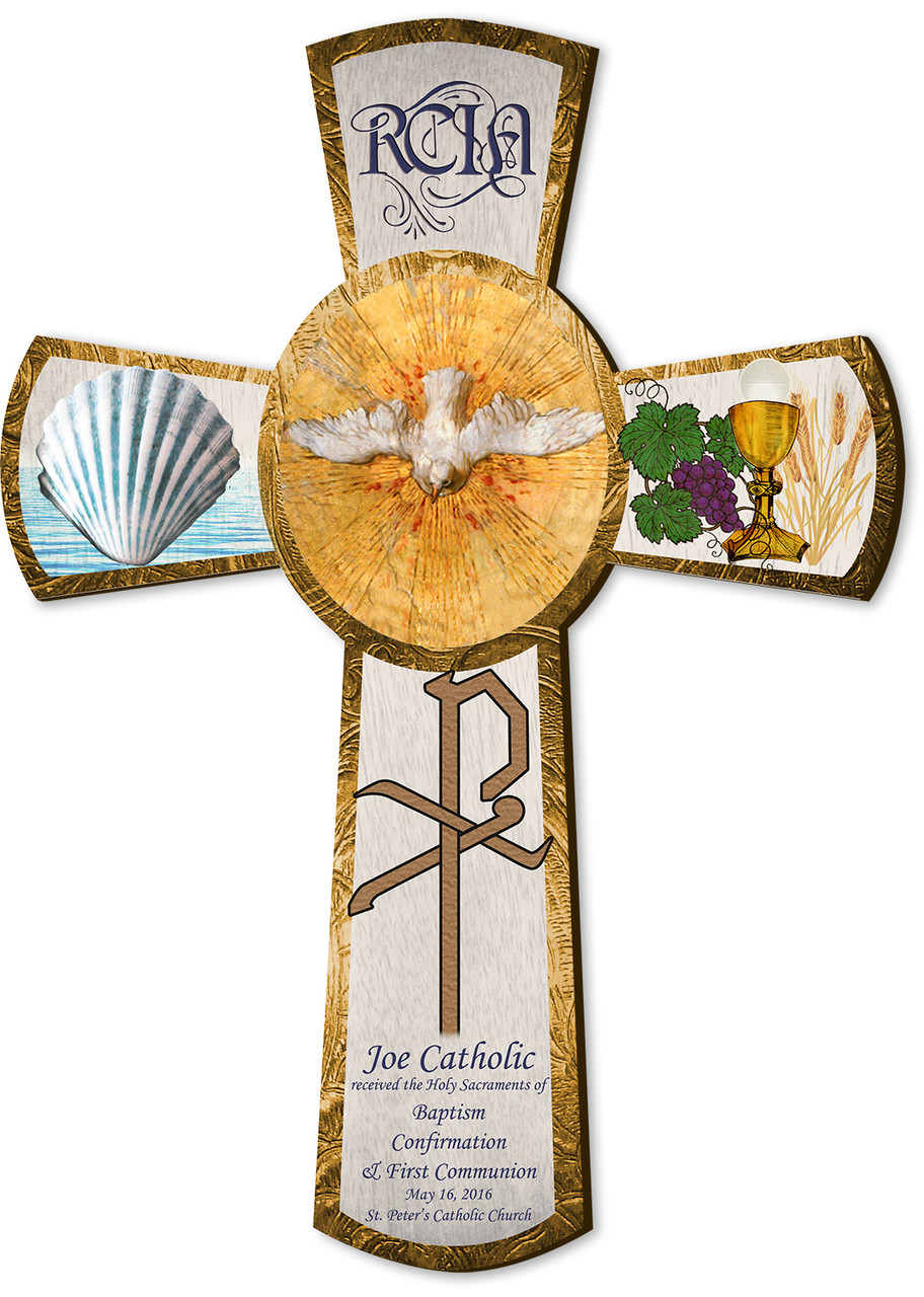Personalized Rcia Gift Cross 10 Catholic To The Max Online