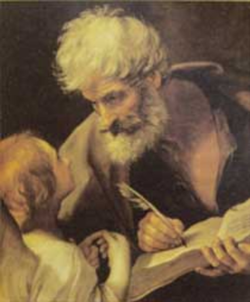 St. Matthew and Angel Poster