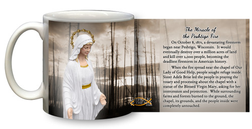 Our Lady of Good Help: The Miracle of the Peshtigo Fire Mug