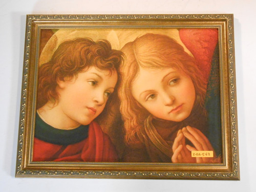 CLEARANCE Two Angels by Lippi 12x16 Framed Print