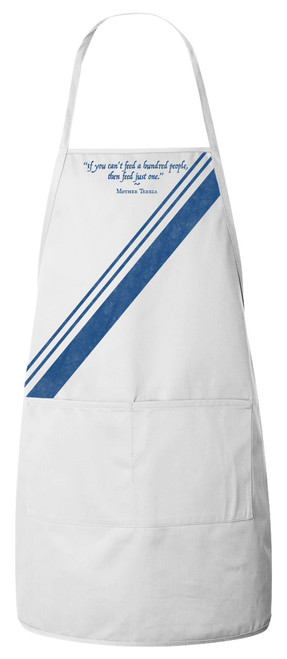 Mother Teresa Apron (White)