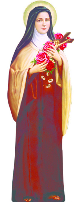 St. Therese of Lisieux Lifesize Standee