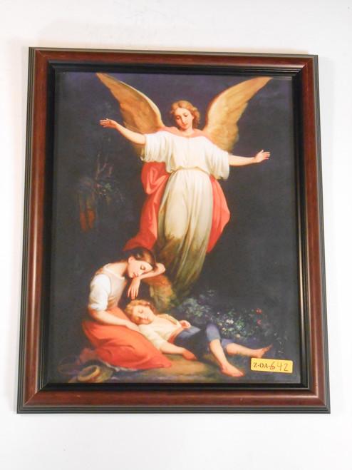 CLEARANCE Guardian Angel 11x13 Framed Print