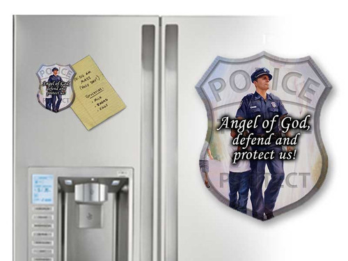 The Protector: Police Guardian Angel Magnet
