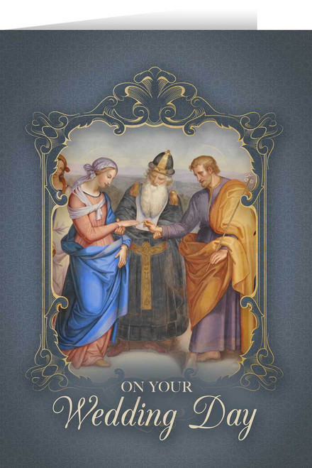 St. Joseph & Mary Wedding Greeting Card