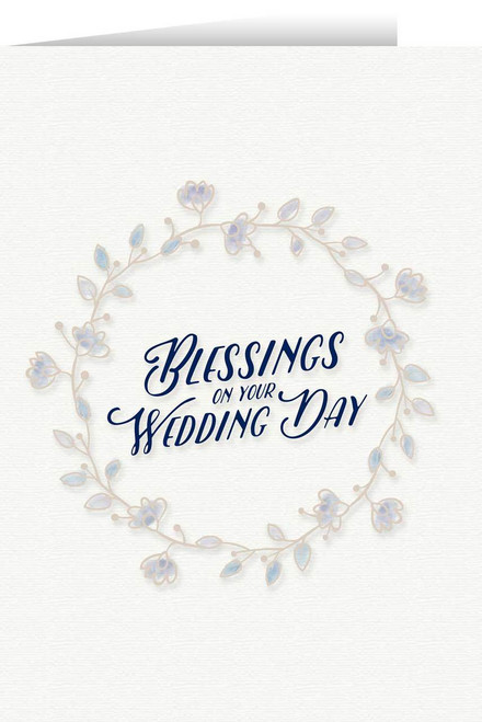 Blessings Wedding Greeting Card