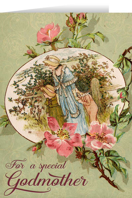 Special Godmother Greeting Card