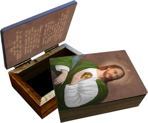 Saint Jude Keepsake Box