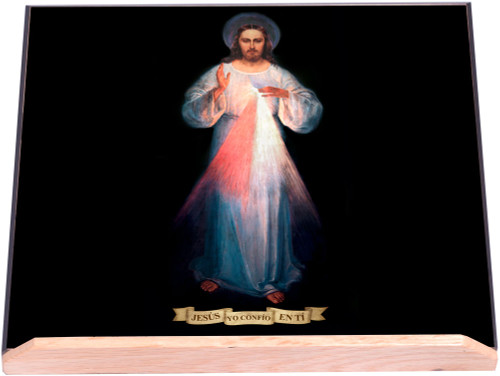 Spanish Vilnius Divine Mercy Bible Stand