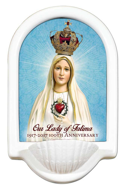 Fatima 100 Year Anniversary Holy Water Font