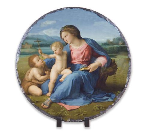 Alba Madonna Round Slate Tile