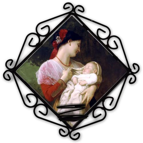 Maternal Admiration Votive Candle Holder