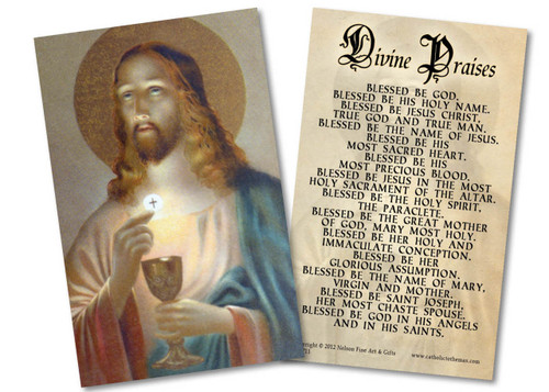 Bread of Life Holy Card