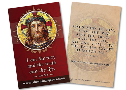 Download Jesus Holy Card