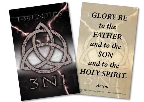 Trinity 3N1 Holy Card