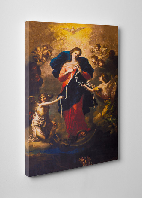 Mary Undoer of Knots Gallery Wrapped Canvas