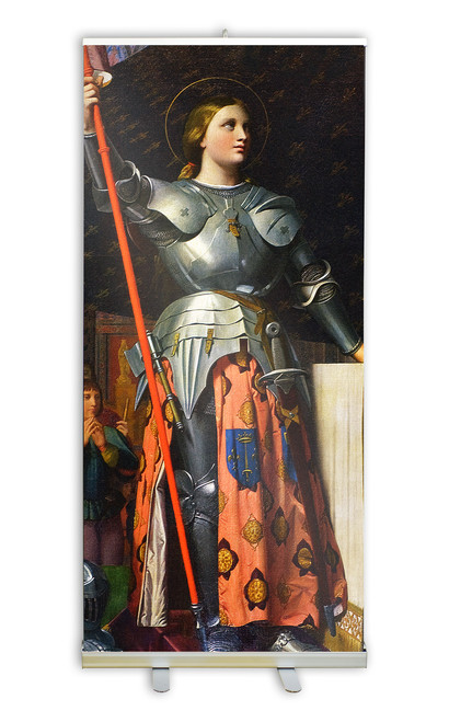 St. Joan of Arc Banner Stand