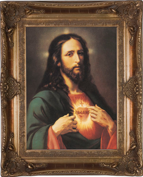 Sacred Heart of Jesus Museum Framed Art