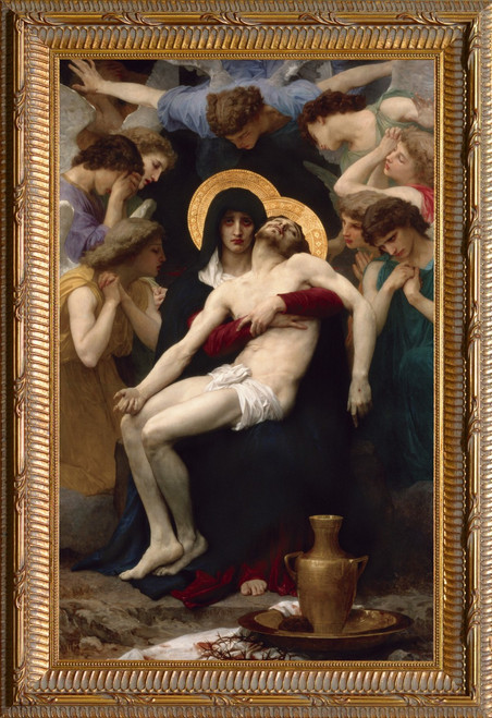La Pieta - Ornate Gold Framed Art