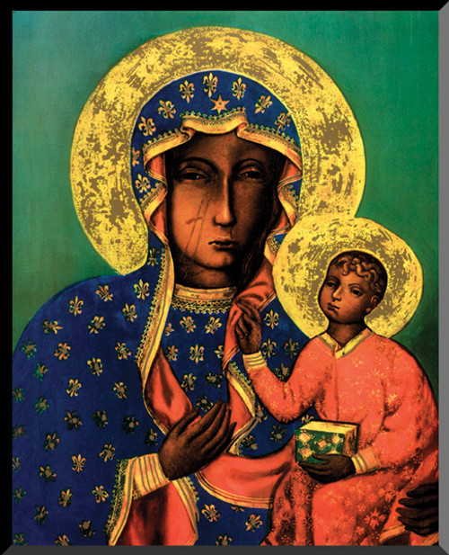 Our Lady of Czestochowa Wall Plaque