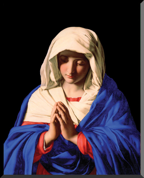Mary in Prayer Wall Plaque