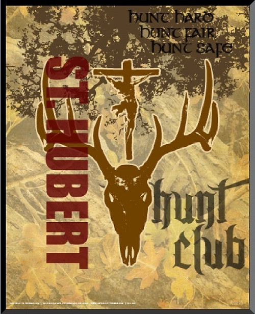 St. Hubert Hunt Club Graphic Wall Plaque