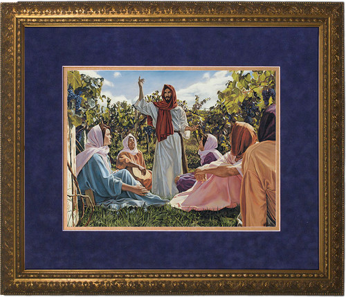 Proclamation Of The Kingdom Matted Gold Framed Art