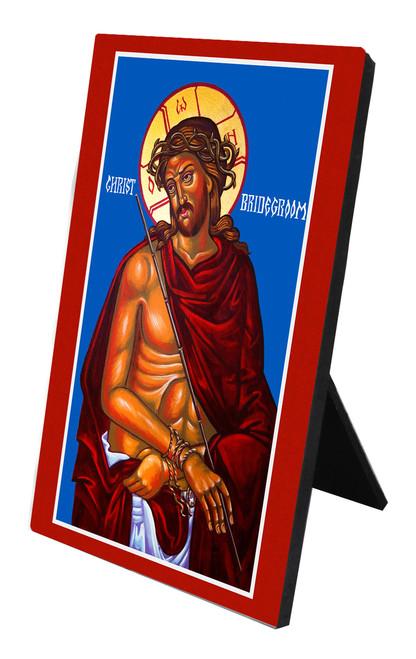 Christ the Bridegroom Vertical Desk Plaque
