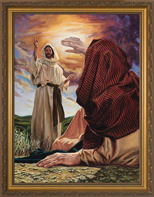 Conversion of St. Paul by Jason Jenicke - Standard Gold Framed Art