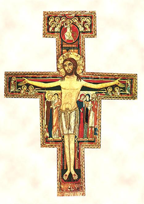 San Damiano Cross Print Catholic To The Max Online